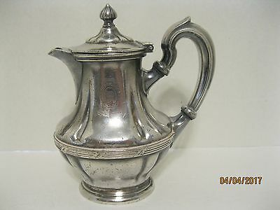 R WALLACE SILVER SOLDERED ST REGIS 10 oz CREAMER 0279-10 VERY RARE