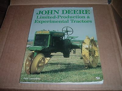 John Deere Limited-Production & Experimental Tractors by Peter Letourneau Book