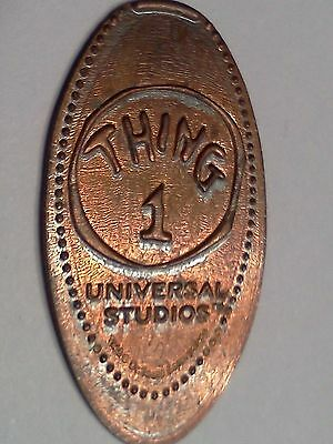 UNIVERSAL STUDIOS THING 1-Elongated / Pressed Penny M-635