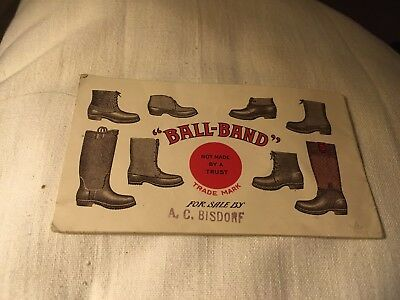 Ad Ball Brand Shoes Boots Paint Book