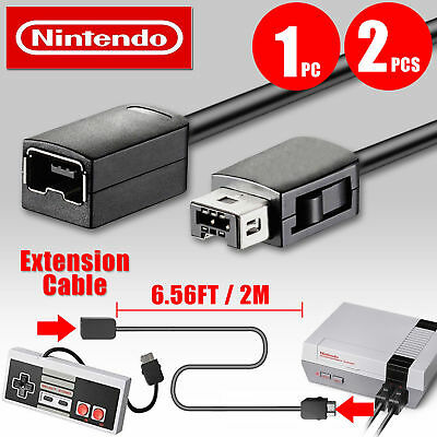 1PC 2PCS 6ft Extension Cable Cord for Nintendo NES Classic Edition Controller