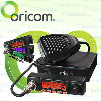Oricom Uhf180 Uhf Radio 80 Channel 5 W 5 Watt New 477 Band Mhz 2 Two Way 2Way Cb
