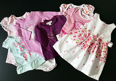 BABY GIRL Sz 000, ADORABLE CLOTHING BUNDLE, OLLIE'S PLACE , PUMPKIN PATCH & MORE