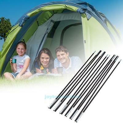 2pcs Replacement Camping Tent Pole Aluminum Alloy Spare 7mm Rod Outdoor Travel