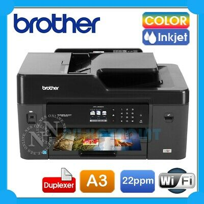 Brother MFC-J6530DW 4-in-1 A3 Wireless Network Inkjet Printer+Duplex+ADF+FAX