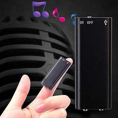 8GB Digital Dictaphone USB MP3 Player Spy Voice Recorder Listening Device Hot HO