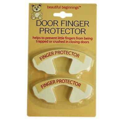 Door Jammer 2pcs - Pack Finger Child Safety Trap Protectors Twin Baby Toddler
