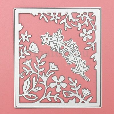 DIY Metal Cutting Dies Stencil Paper Craft Card Making Album Decor Flower