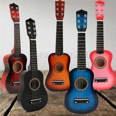 21'' Kids Acoustic Guitar 6 String Practice Music Instruments Beginners Gifts