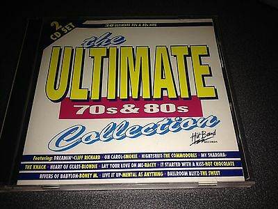 THE ULTIMATE 70's 80's COLLECTION Various Artists Compilation RARE CD Hit Bound