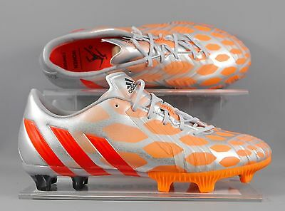 Adidas (M18326) Predator Instinct FG WOMENS football boots - Silver/Red/Orange