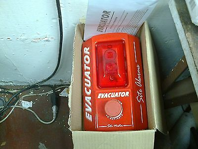 Evacuator Battery Operated Stand Alone Site Alarm - (R3)