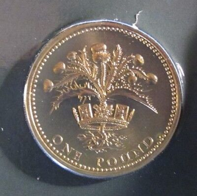 1984 Brilliant Uncirculated Scottish One Pound