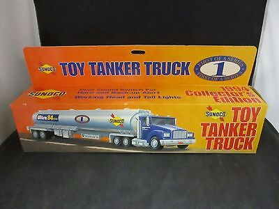 1994 Collectors Edition Sunoco Toy Tanker Truck 1st of a Series NIB
