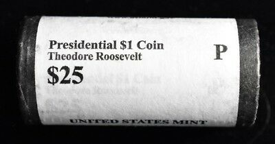 2013-P Theodore Roosevelt - Presidential Dollar Roll
