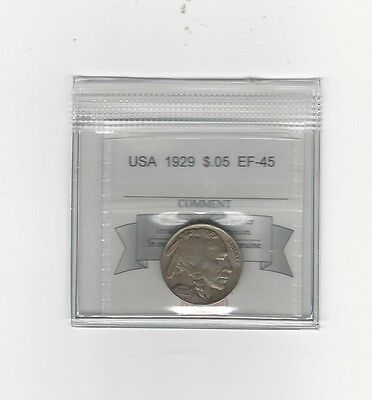**1929** USA, Indian Head Nickel 5 Cent