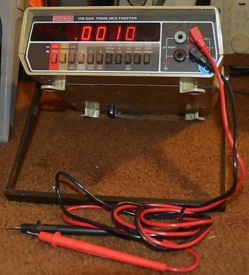 Keithley Model 179-20A TRMS - True RMS Digital Multimeter with New Probes Tested