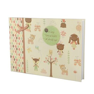 Baby Boutique Special Keepsake Record Book Ideal Baby Shower or New Born Gift
