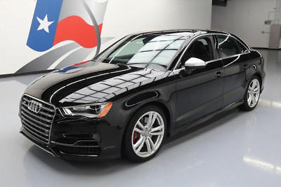 2016 Audi S3 Premium Plus Sedan 4-Door 2016 AUDI S3 2.0T QUATTRO PREM PLUS AWD SUNROOF NAV 9K #018361 Texas Direct Auto
