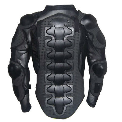 Motorcycle MX ATV Motocross Chest Back Protector Body Armour Spine Protector