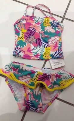 6-9 months M&S tankini set with frilled bottoms, bnwt