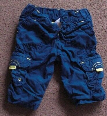 0-3 Months Blue Combat Trousers As13