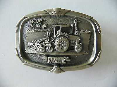 BCA Bearings Pewter Belt Buckle