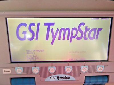 GSI Tympstar Middle Ear Analyzer Version 2 Calibrated new Pump ANSI S3.6 .#eLB30
