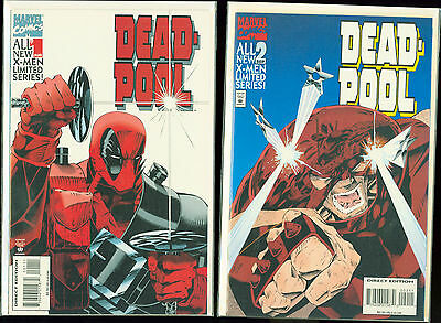Deadpool mini series 1994 1,2,3,4 1-4 set run NM+ unread Marvel