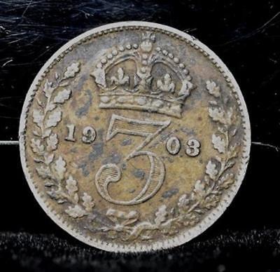 1903 Great Britain 3 Pence - VF