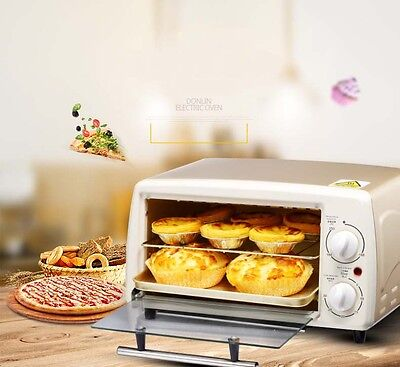 12L Mini Commercial Gold Multi-function Heating Home Benchtop Electric Oven*