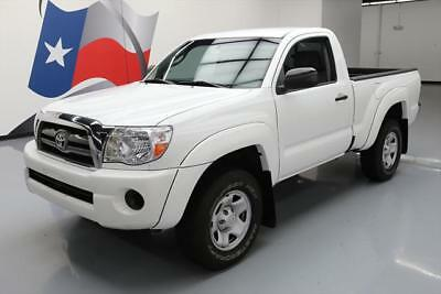 2009 Toyota Tacoma Pre Runner Standard Cab Pickup 2-Door 2009 TOYOTA TACOMA PRERUNNER REGULAR CAB 5-SPEED 98K MI #599548 Texas Direct