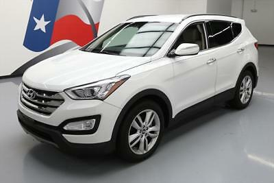 2014 Hyundai Santa Fe  2014 HYUNDAI SANTA FE 2.0T AWD TURBO LEATHER NAV 26K MI #211264 Texas Direct