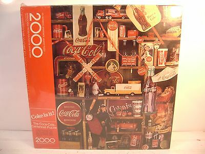 1986 Coca Cola 2000 Piece Puzzle By Hallmark, New