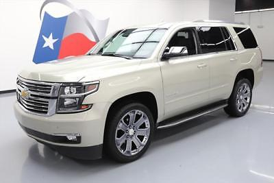 2016 Chevrolet Tahoe LTZ Sport Utility 4-Door 2016 CHEVY TAHOE LTZ 4X4 7-PASS VENT LEATHER NAV 22'S #243332 Texas Direct Auto