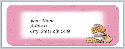 30 Personalized Return Address Labels Cute Baby Buy 3 get 1 free (bo 29)