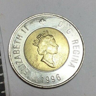 CANADA 1996 2 Dollar coin very nice condition