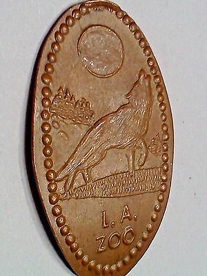 LOS ANGELES ZOO-Elongated / Pressed Penny P-103