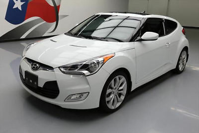 2013 Hyundai Veloster Base Hatchback 3-Door 2013 HYUNDAI VELOSTER STYLE AUTOMATIC PANO SUNROOF 41K #166601 Texas Direct Auto
