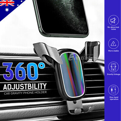 360° Universal Car Air Vent Mount Phone Gravity Holder GPS iPhone Samsung