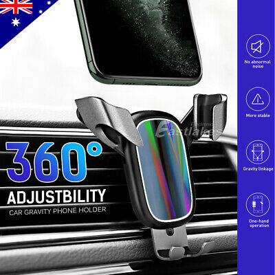 Baseus 360° Universal Car Air Vent Mount Phone Gravity Holder GPS iPhone Samsung