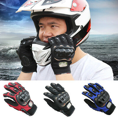 Motocross Racing Pro-Biker Motorcycle Cycling Full Finger Gloves Size M/L/XL/XXL