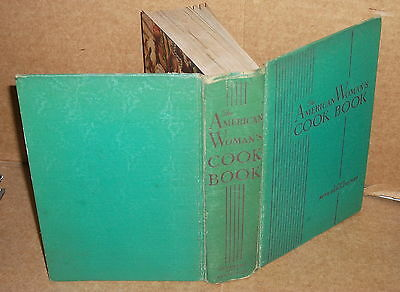 1938 The American Woman's Cook Book by Ruth Berolzheimer HC COOKBOOK