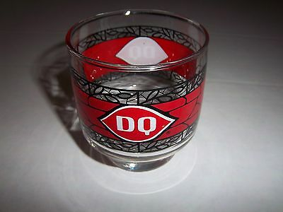 Vintage Dairy Queen Juice Size Glass - Great Condition With No Chips Or Fading !