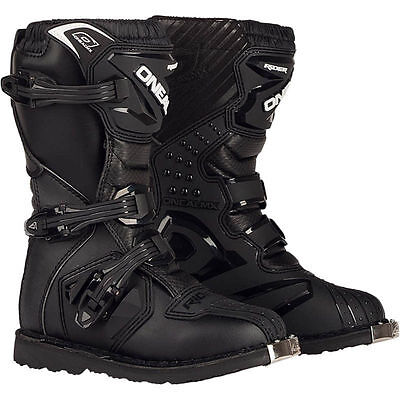 Oneal New 2018 Mx Rider Adult Boot Dirt Boot Black Cheap Motocross Boots