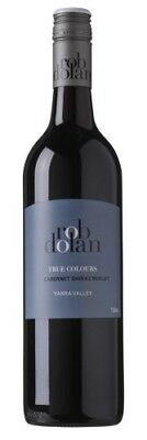 Rob Dolan `True Colours` Cabernet Shiraz Merlot 2013 (12 x 750mL), VIC.