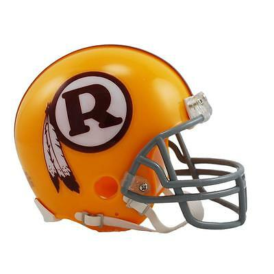 NFL Football Mini Helm Helmet Washington Redskins Throwback OVP Riddell 1970-71