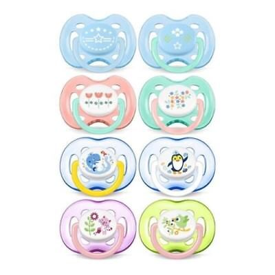 Philips AVENT PACIFIER FREEFLOW Color & Size Selection NEW