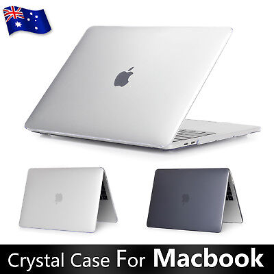 "Crystal Hard Case + Keyboard Cover For Apple MacBook Air 11"" 13"" Pro 15 Touchbar"