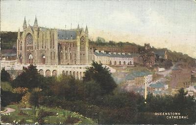 Vintage Postcard - QUEENSTOWN CATHEDRAL, CORK IRELAND